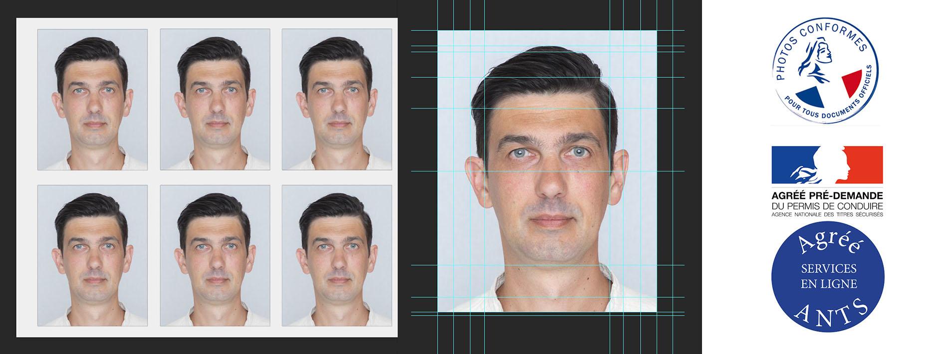 photo de catégorie Votre photo d'identité à Saint-Lô  pour passeport, carte nationale d'identité, permis de conduire et titres de séjour pour les étrangers. de Ludovic Souillat